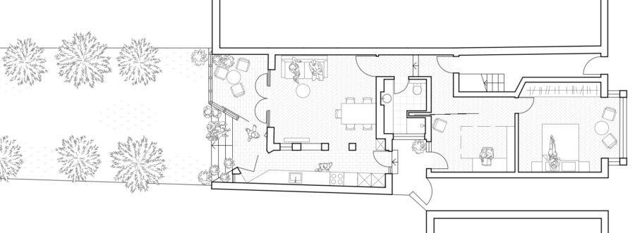 Ground floor plan KWG