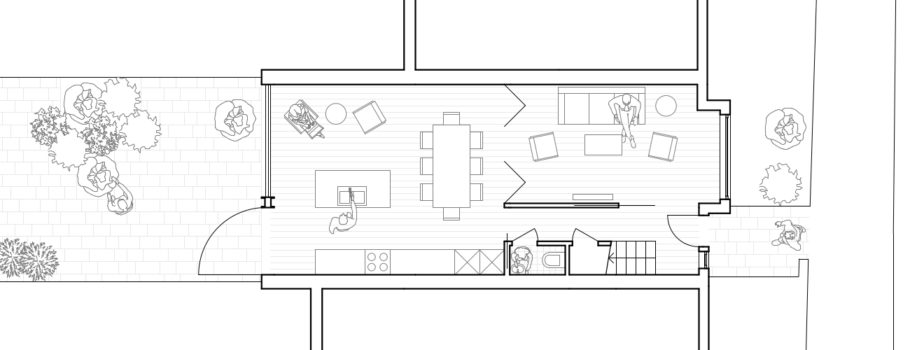 Ground floor plan WBH