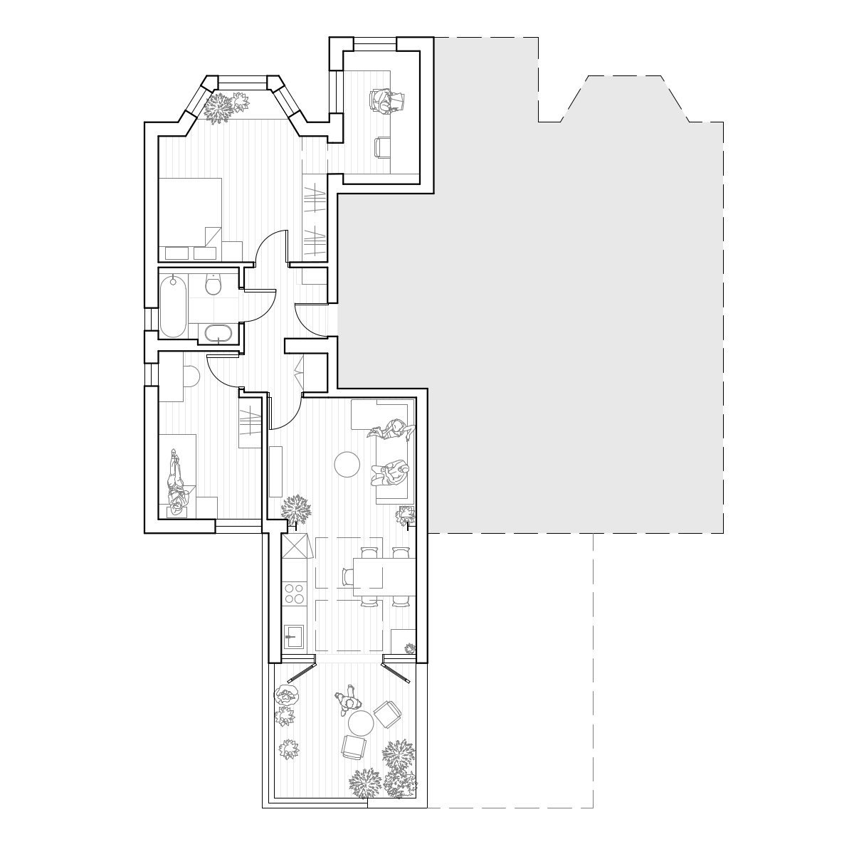 Layout as built